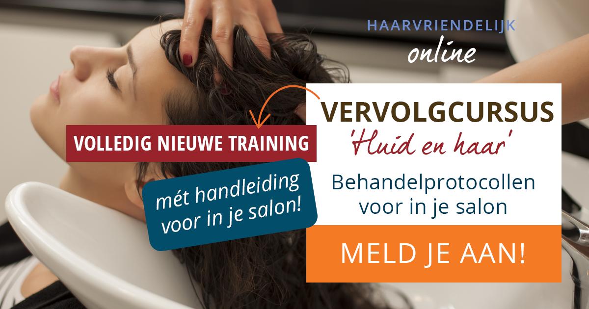 Banner Vervolgcursus 'Huid en haar' – Behandelprotocollen