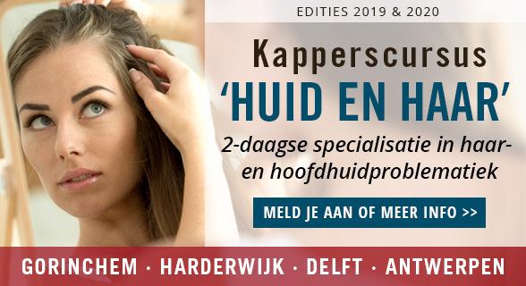 Kapperscursus 'Huid en haar', voor specialisatie in haar- en hoofdhuidproblemen